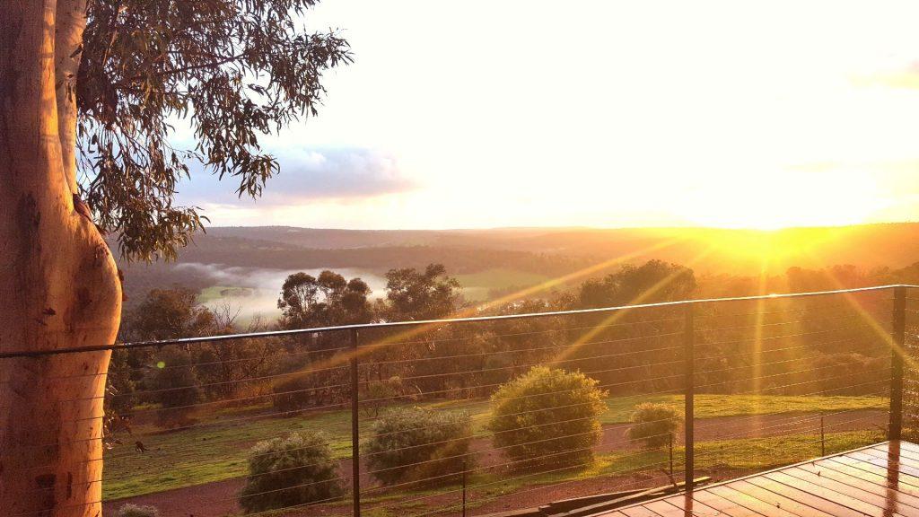 chittering valley sunrise
